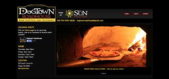 Dogtown Roadhouse by TreeLine Web Design