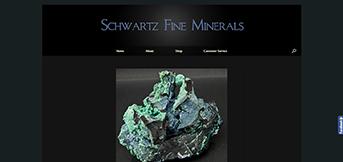 Schwartz Fine Minerals by TreeLine Web Design