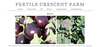 Fertile Crescent Farm - TreeLine Web Design
